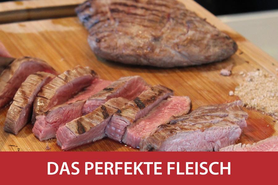 BevorstehendDas perfekte Fleisch und der beste Wein