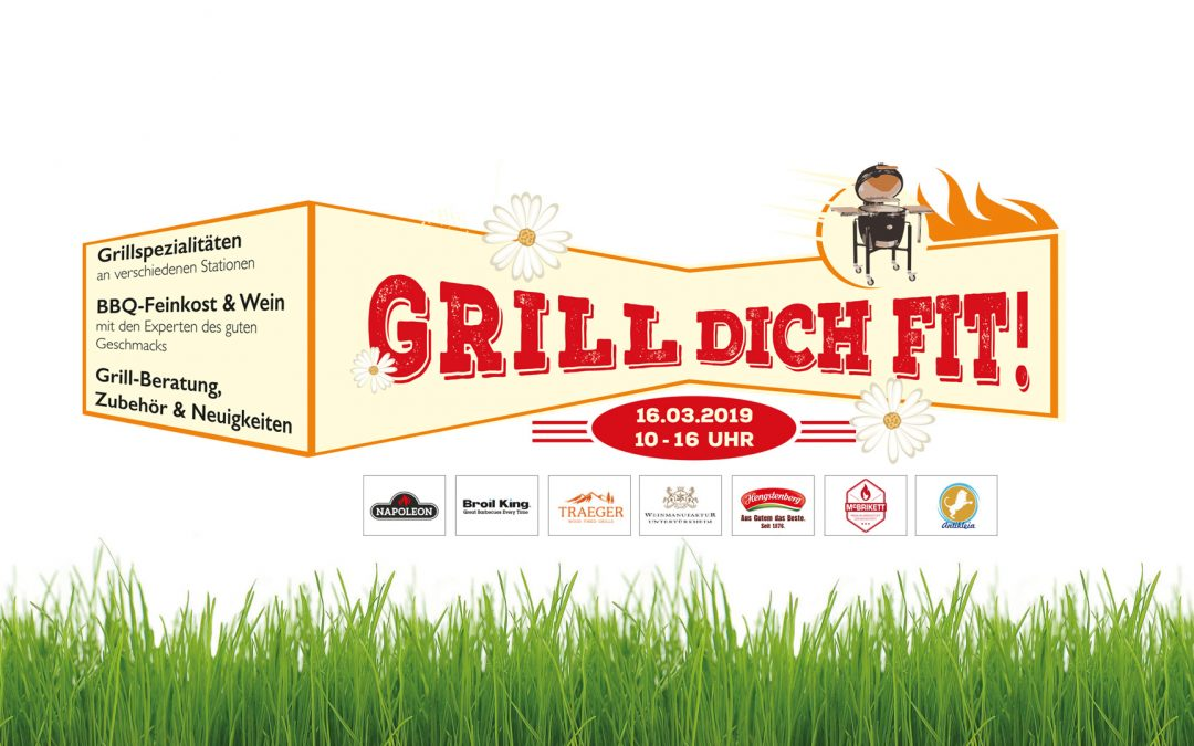 AbgelaufenGrill Dich fit! Das cendo Grill-Opening 2019